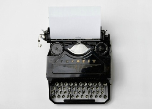 Writing - Blog - Picture 2 - typewriter Rectangle